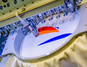 Broderie textile